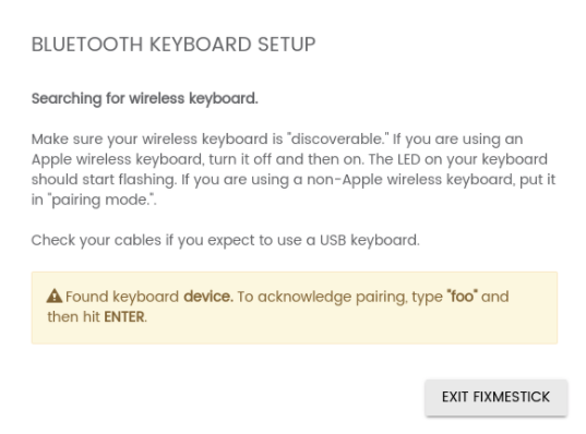 My Keyboard and/or Mouse Won't Pair During the Scan